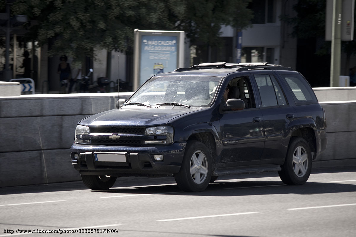 Chevrolet TrailBlazer - Simple English Wikipedia, the free encyclopedia