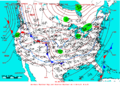 2005-01-15 Surface Weather Map NOAA.png