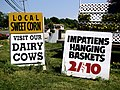 2006-07-16 - US - New York - Long Island - North Fork - Signs - Visit our Dairy Cows (4888409123).jpg