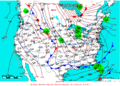 2007-02-05 Surface Weather Map NOAA.png