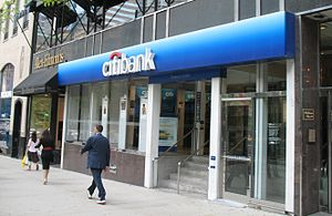 Citibank - Citibank branch on Michigan Avenue, Chicago
