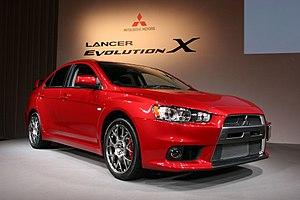 Mitsubishi Lancer Evolution - Image: 20071001 Lancer Evolution X front
