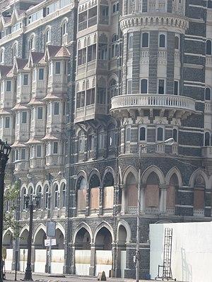 Taj Mahal Hotel with a closeup of the Wasabi r...
