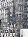 2008 Mumbai terror attacks Taj Hotel Wasabi Restaurant burned.jpg
