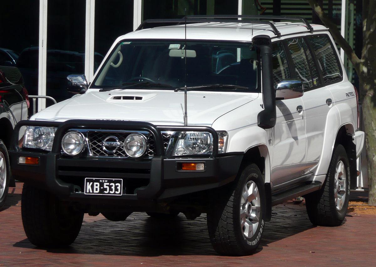 Nissan Motor Corporation >> Nissan Patrol - Wikipedia bahasa Indonesia, ensiklopedia bebas