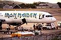 2009-03-29 Iron Maiden airplane in Recife unloading.jpg