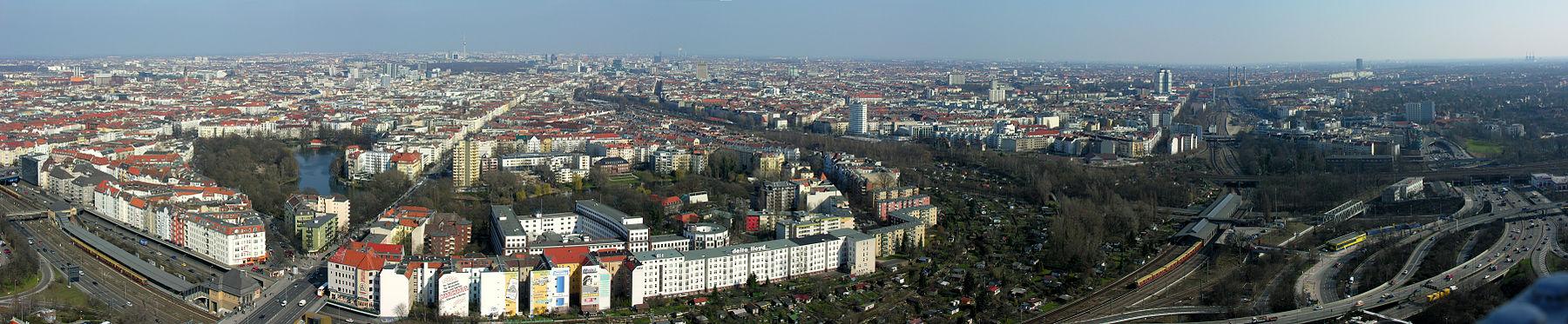 Panorámakép a városról