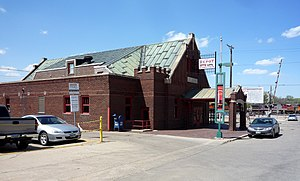 Minot, North Dakota - The Old Soo Depot Transportation Museum is housed in the historic Soo Line depot (built 1912) in downtown Minot.