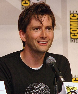 Ninth Doctor - Image: 2009 07 31 David Tennant smile 09