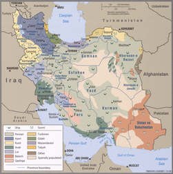 2009 Iran ethnoreligious distribution by the CIA.png