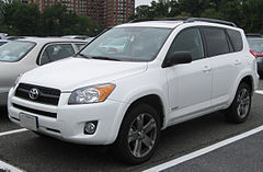 Toyota RAV4 III przed face liftingiem