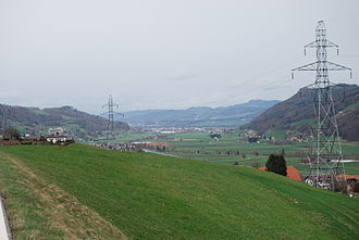 Kaufdorf - Gürbe Valley with Kaufdorf, Gelterfingen and Toffen.