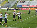 2010-05-29 Charity Bowl XII Augustana warmup2.jpg