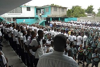 Haitians - Schoolchildren from Hinche (Centre)