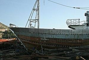 2010-12-14 Morocco Agadir fishing port shipyard 2.jpg