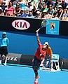 2013 Australian Open Cil serve (8396713168).jpg