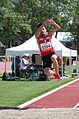 2013 IPC Athletics World Championships - 26072013 - Antonio Andujar Arroyo of Spain during the Men's Triple jump - T46 2.jpg