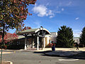 2014-11-02 12 23 14 Entrance to the Ewing Branch of the Mercer County Library System on Scotch Road in Ewing, New Jersey.JPG