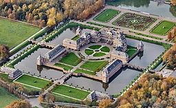 Schloss Nordkirchen in Nordkirchen, district of Coesfeld, is the largest water castle in Westphalia, Germany. It was built between 1703 and 1734.