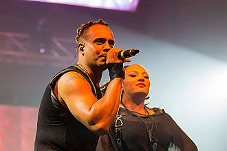 2 Unlimited - 2 Unlimited performing in 2014.