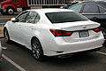 2014 Lexus GS350 AWD rear.jpg
