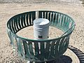 2015-04-18 12 15 25 The heated tipping bucket rain gauge at the Lovelock Airport-Derby Field ASOS in Pershing County, Nevada.jpg