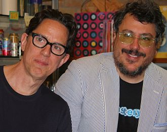 They Might Be Giants - John Linnell (left) and John Flansburgh (right), of They Might Be Giants