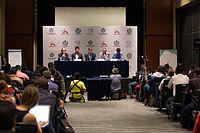 2015 Wikimania press conference-10.jpg