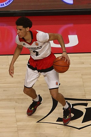 2017 NBA draft - Lonzo Ball was selected second by the Los Angeles Lakers.