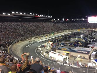 Bass Pro Shops NRA Night Race - 2016 Bass Pro Shops NRA Night Race
