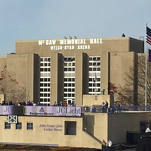 Welsh-Ryan Arena - Welsh-Ryan Arena exterior