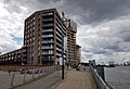 2016 Woolwich, Royal Arsenal, Waterfront construction site 23.jpg
