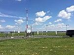 2017-06-06 10 52 13 View north toward the Automated Surface Observing System (ASOS) at Ronald Reagan Washington National Airport in Arlington County, Virginia.jpg
