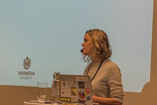 2017-11-04 Wikimedia Diversity Conference, Katherine Maher (01) (freddy2001)