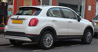 Fiat 500X - Fiat 500X Pop Star (UK)