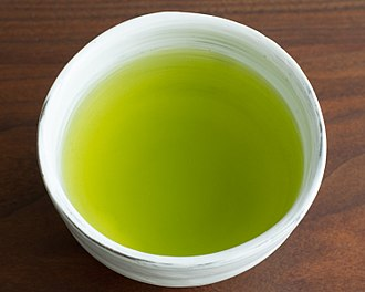 Sencha - Steamed teas such as sencha produce a cloudy, richly coloured liquid.