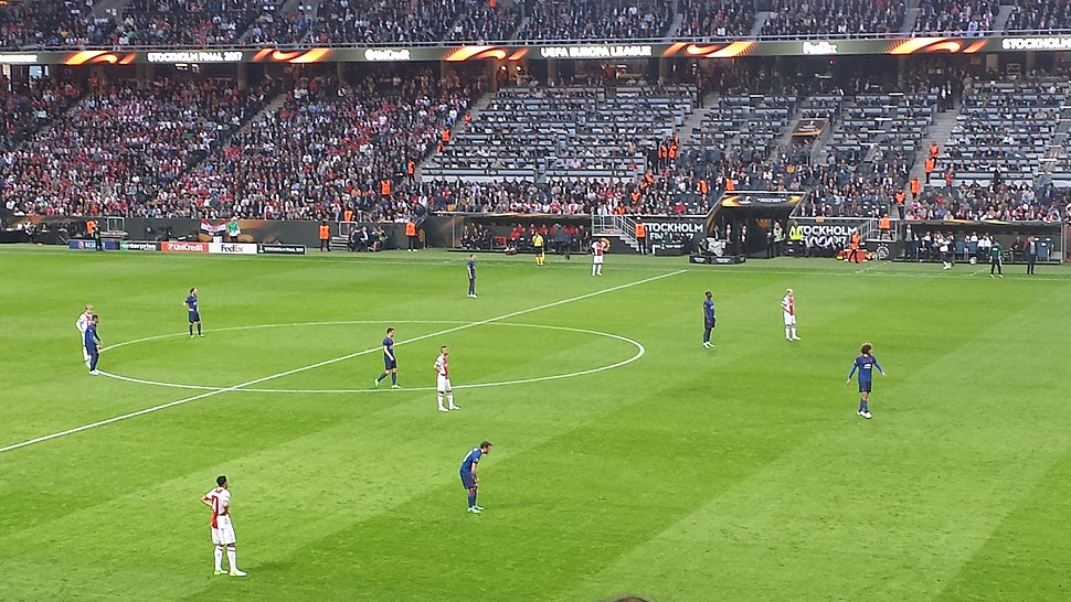 2017 UEFA Europa League Final first half