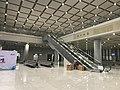201812 Waiting Room Escalator of Fuyang Station.jpg