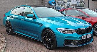 Sports sedan - BMW M5