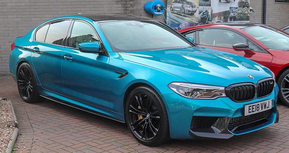 2018 BMW M5 Automatic 4.4