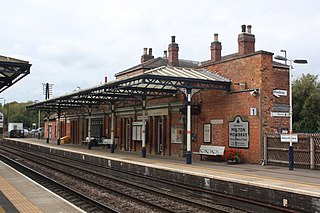 Melton Mowbray railway station Railway station in Leicestershire, England
