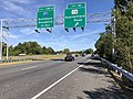 2019-09-19 10 47 17 View west along Maryland State Route 100 (Paul T. Pitcher Memorial Highway) at Exit 14 (Maryland State Route 174, Quarterfield Road) in Glen Burnie, Anne Arundel County, Maryland.jpg