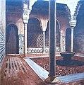 2 Arabian courtyard 100x100 cms..jpg