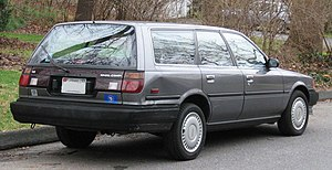 1987-1991 Toyota Camry wagon photographed in U...