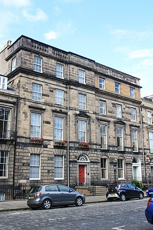 Alexander Asher - 31, 32 Heriot Row, Edinburgh