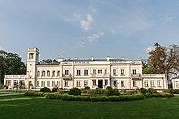 31817 Widok na elewację frontową, południową pałacu w Sannikach.jpg