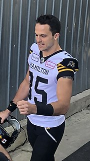 Mike Daly (Canadian football) Professional Canadian football defensive back