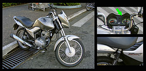 History of ethanol fuel in Brazil - The 2009 Honda CG 150 Titan Mix was launched in the Brazilian market and became the first flex-fuel motorcycle sold in the world.