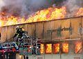 4.6.2006r. Fire supermarket ALBERT in Poznan Winiary (3).jpg