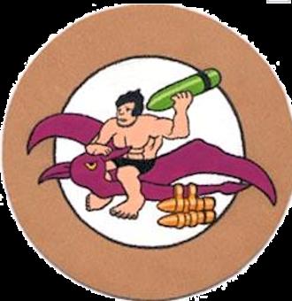 407th Air Refueling Squadron - Emblem of the World War II 407th Bombardment Squadron